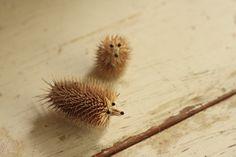 Make a hedgehog - tutorial.
