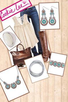 Cookie Lee Jewelry adds that shine factor to your outfit!