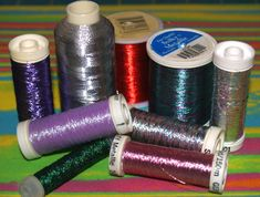 Metallic Thread Tips | Machine Embroidery Designs | SWAKembroidery.com