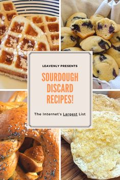 Wondering what to do with that sourdough discard? Leavenly has combed the Internet Sourdough English Muffins, Sourdough Bread Starter, Sourdough Pancakes, Sourdough Recipes, Pancake Bread Recipe, Pancake Recipes, Potato Recipes, Bread Recipes, Pie Cake