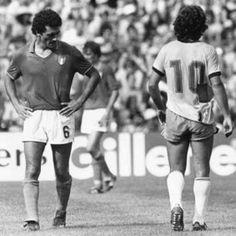 : Gentile e Zico, 1982