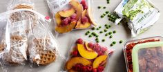 Freezer Pantry Items / Photo by Chelsea Kyle, Food Styling by Anna Stockwell