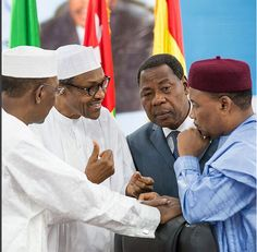 Welcome To Nelly Jackson's Blog: Buhari pictured at the 11th Heads of States Summit...