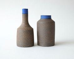 Image of Rock Vases - blue