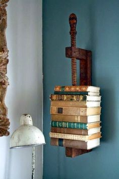 Decorgin: Industrial Bookcase and Bookshelf Design: My Private Decoration Blog About Home Decoration and DIY Ideas