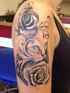 You searched for - Body Tattoo Design Bild Tattoos, Leg Tattoos, Flower Tattoos, Body Art Tattoos, Sleeve Tattoos, Body Tattoo Design, Cat Tattoo Designs, Unique Tattoos, Beautiful Tattoos