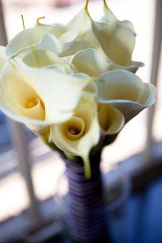 Bridal Bouquet | Oversize Cali Lillies | petalosfloral.com