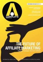 The future of affiliate marketing - good read for Dec/Jan