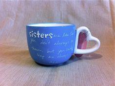 Mug for Sister  www.sandramagsamen.com
