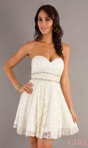 Lace dresses  Dantelli beyaz mezuniyet elbiseleri 2014 179x300 Dantelli beyaz mezuniyet elbiseleri 2014