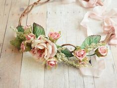 { Crown of roses } cute for flower girl!: