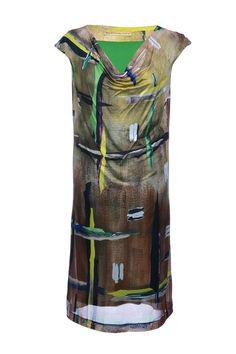 #Balenciaga | Exklusives #Kleid mit giftgrünem Innenfutter, Gr. M | Kleid Balenciaga | mymint-shop.com | Ihr Online Shop für #Secondhand / #Vintage #Designerkleidung & Accessoires bis zu -90% vom Neupreis das ganze Jahr #mymint