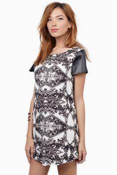 Mirror Mirror Mini Dress