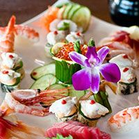 Rehoboth Beach, DE - A longtime locals' favorite, The Cultured Pearl Restaurant & Sushi Bar has a Zen feel, with koi pond at the entrance and a pleasant rooftop deck. The sushi and appetizers are first-rate. Live music most nights.