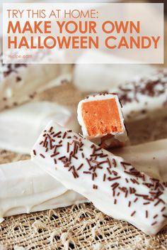Quick! There's still time to make your own #HalloweenCandy. #Halloween