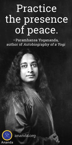 Be a channel of peace. Help us reach 1 million prayers for world peace with the new app based on Yogananda's Peace & Harmony Prayer. Yoga Quotes, Wise Quotes, Inspirational Quotes, Spiritual People, Spiritual Quotes, Yogananda Quotes, Peace And Harmony, Peace Of Mind, Autobiography Of A Yogi
