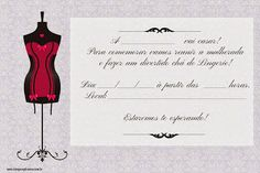 Convites para Chá de Lingerie Grátis para Editar Cantinho do Blog Cantinho do blog Layouts e Templates para Blogger