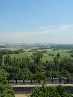 View from Arundel Castle Keep.
