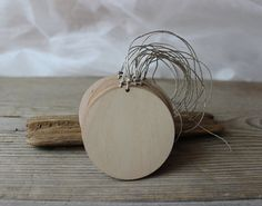 Wooden tags / 2.4 gift  tags / set of 50 tags / by NeliStudio
