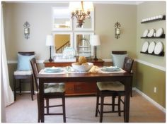 The Open Great Room Plan Extends From The Dining Room To