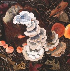 Contemporary Painting - Cascade (Original Art from Marcy Lansman)