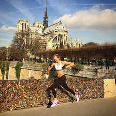 Karlie Kloss. Need inspiration to workout? We've rounded up the best Instas of models getting active to get you motivated.