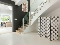 décoration d'escalier élégant
