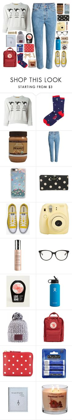 """""""sally"""" by soft-orchid ❤ liked on Polyvore featuring Peter Jensen, Vans, H&M, Casetify, Kate Spade, Fuji, By Terry, Christian Dior, Torrid and Hydro Flask"""