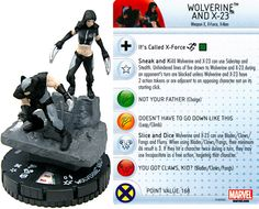 Wolverine and X-23 #050 Deadpool Booster Set Marvel HeroClix