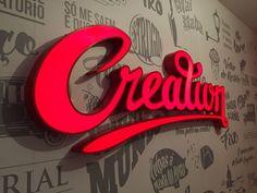 Creation Lisboa :: neon signage