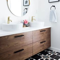 Ikea Godmorgon Bathroom Vanity & Replacement Cabinet Doors – Semihandmade Source by amieboos The post 4 Drawers & 55 for Godmorgon appeared first on Giulia Home DIY. Ikea Kitchen Cabinets, Bathroom Cabinets, Bathroom Furniture, Ikea Bathroom Vanity, Bathroom Cleaning, Bathroom Interior, Condo Bathroom, Ikea Bathroom Storage, Ikea Kitchens