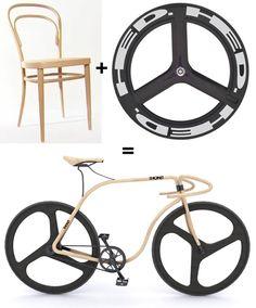 Thonet Concept Bike Raises the Suspension-of-Disbelief Question Once Again...