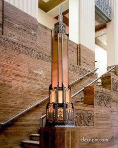 Art Deco Vs Art Nouveau - is it a thing? Design Industrial, Vintage Industrial Lighting, Antique Lighting, Art Nouveau, Estilo Interior, Estilo Art Deco, Art Deco Buildings, Art Deco Lighting, Art Deco Design