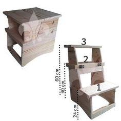 Woodworking Projects Diy, Wood Projects, Space Saving Furniture, Diy Interior, Garage Storage, Wooden Furniture, Stool, House Design, Home Decor