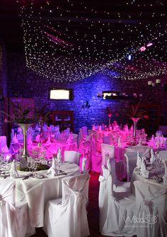 Beispiel unserer Hochzeitsdekoration im Weingut Junghof, Undenheim. Stuhlhussen und Tischdekoration von Weddstyle. http://www.weddstyle.de/hochzeitsdeko-referenzen.html
