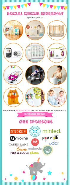 @Andrea / FICTILIS Fellman @obs form Nursery | Junior's #SocialCircus is on! Win a Tiger Humidifier& $3500 in Prizes http://projectnursery.com/2014/04/socialcircus-giveaway/ … pic.twitter.com/VKyHoT9kYc