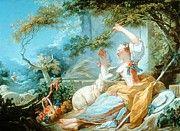 """New artwork for sale! - """" The Shepherdess 1752 by Fragonard JeanHonore """" - http://ift.tt/2B474qp"""