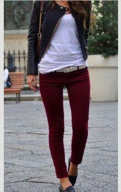 Merlot pants