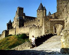 CARCASSONNE, the oldest medieval city in Europe.  Short ride from Toulouse
