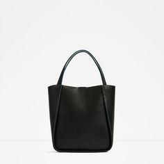 ZARA - レディ-ス - ツートンカラーショッピングバッグ