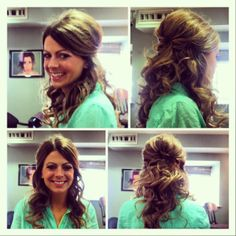 Pageant Hairstyles for Teens