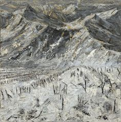 """Mount Tabor"" by Anselm Kiefer, Germany, born in 1945."