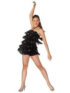 1f22173448f7 Ladie Frisky Fringe Charlestone Tap Dance Ballroom Cabartet Jazz Dancing  Costume In Clothing Shoes Accessories Dancewear Menu0027s U0026 Womenu0027s  ...