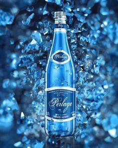 Perlage water on Behance