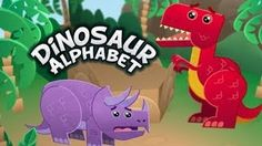 Dinosaur Alphabet Song - Kids learn the ABCs with T-Rex and other fun dinosaurs. T-Rex does tear up a bit but my nephews 1 and 2 don& notice and they love it! Dinosaur Theme Preschool, Dinosaur Alphabet, Alphabet Songs, Dinosaur Activities, Dinosaur Crafts, Preschool Songs, Alphabet Activities, Toddler Activities, Preschool Activities