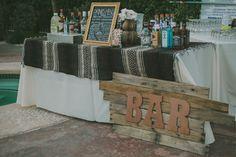 This Elegant Palm Springs Wedding Nailed Desert-Chic #refinery29 http://www.refinery29.com/100-layer-cake/20#slide16
