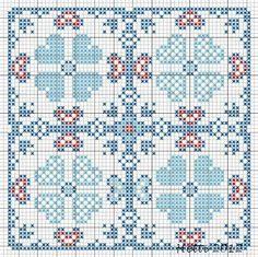Creative Workshops from Hetti: SAL Delfts Blauwe Tegels,Deel 2 - SAL Delft Blue Tiles, Part 2.