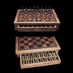 'Luxury Chess'[[MORE]]British gunsmith 'Holland & Holland' and 'Dalmore Whisky' launche luxurious chess set.Each set contains a bottle of whisky and two tumblers. The chess set is exclusive to Harrods.Only 21 will be released!