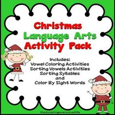 Christmas: Fun Filled Activity Pack