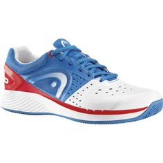 Head Sprint Pro Clay 103.90 €  DATOS BÁSICOS: Marca: Head Tipo de Producto: Zapatillas Color: Blue / White / Red Talla: 40.5 41.5 42 44 44.5 45.5 46 47.5 Sexo: Hombre http://padelhome.es/blog/2014/08/head-sprint-pro-clay/